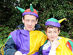 Aidan Mooney and Jack Lawlor pictured at the Slane festival. Photo: Colin Bell/pressphotos.ie