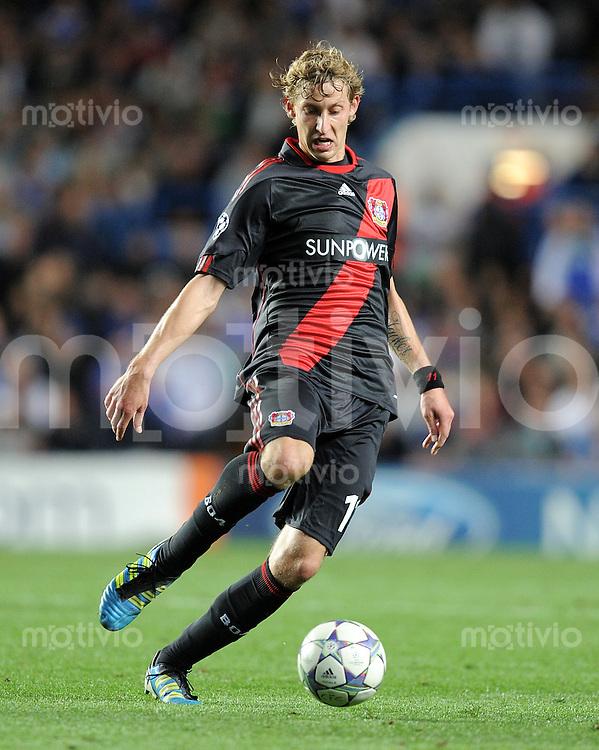 FUSSBALL   CHAMPIONS LEAGUE   SAISON 2011/2012    13.09.2011 FC Chelsea London - Bayer 04 Leverkusen Stefan Kiessling (Bayer 04 Leverkusen)