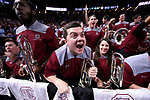 GREENVILLE, SC - MARCH 19: Members of the University of South Carolina react to the on-court action during the 2017 NCAA Men's Basketball Tournament held at Bon Secours Wellness Arena on March 19, 2017 in Greenville, South Carolina. (Photo by John Joyner/NCAA Photos via Getty Images)