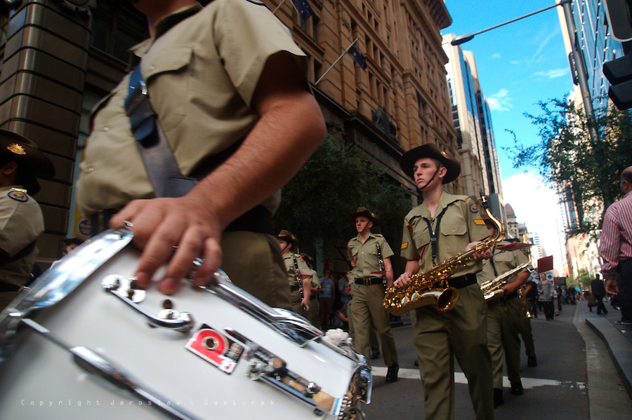 The ANZAC Day Parade, Sydney 2009, Australian Army Cadet Band