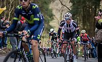Michael Matthews (AUS/Sunweb) up the Côte de la Ferme Libert<br /> <br /> 103rd Liège-Bastogne-Liège 2017 (1.UWT)<br /> One Day Race: Liège › Ans (258km)