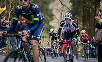 Michael Matthews (AUS/Sunweb) up the C&ocirc;te de la Ferme Libert<br /> <br /> 103rd Li&egrave;ge-Bastogne-Li&egrave;ge 2017 (1.UWT)<br /> One Day Race: Li&egrave;ge &rsaquo; Ans (258km)