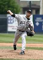May 11, 2004:  Pitcher Ian Snell of the Altoona Curve, Double-A affiliate of the Pittsburgh Pirates, during a game at Jerry Uht Park in Erie, PA.  Photo by:  Mike Janes/Four Seam Images