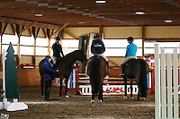 Vanessa Furfaro, Rina, Paige West, Bonnie, Jacqueline Jackie Jacquie Gross, Patten, Margie Gayford Clinic, Skyland Stables, Horse, LetterPerfect Embroidery