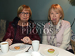 Mary Devaney and Anne O'Brien at the coffee morning in Annesbrook House Duleek in aid of St. Peters Church of Ireland Drogheda. Photo:Colin Bell/pressphotos.ie
