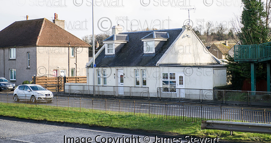 General view of the home of Robert Kelbie, 94-96 Glasgow Road, Ratho Station, Newbridge.