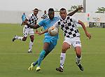 Jaguares se impuso por marcador de 2 - 0 a Equidad, en partido de la penúltima fecha del apertura 2015, jugado en el estadio municipal de Montería.