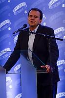 RIO DE JANEIRO, RJ - 02.10.2018 - ELEIÇÕES-RJ, Eduardo Paes candidato ao Governo do Rio de Janeiro durante debate do primeiro turno das Eleições 2018 na sede da TV Globo na cidade do Rio de Janeiro (RJ), nesta terça-feira, 02. - (Foto: Vanessa Ataliba/Brazil Photo Press)