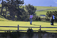 Dermot Desmond (IRL) tees off the 5th tee at Pebble Beach course during Friday's Round 2 of the 2018 AT&amp;T Pebble Beach Pro-Am, held over 3 courses Pebble Beach, Spyglass Hill and Monterey, California, USA. 9th February 2018.<br /> Picture: Eoin Clarke | Golffile<br /> <br /> <br /> All photos usage must carry mandatory copyright credit (&copy; Golffile | Eoin Clarke)