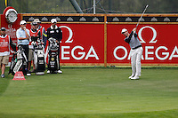 Brett Rumford (AUS) on the 13th during the 1st day of the Omega European Masters, Crans-Sur-Sierre, Crans Montana, Switzerland..Picture: Golffile/Fran Caffrey..