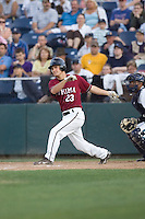 July 4, 2009: Yakima Bears' Daniel Kaczrowski at-bat during a Northwest League game against the Everett AquaSox at Everett Memorial Stadium in Everett, Washington.