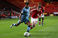 Alfie Doughty of Charlton Athletic and Dominic Bernard of Forest Green Rovers during Charlton Athletic vs Forest Green Rovers, Caraboa Cup Football at The Valley on 13th August 2019