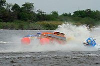 Frame 4: Megan Becan, (#77) rolls over in turn 1 midway through the final heat. She was no injured in the accident. (SST-45 class)