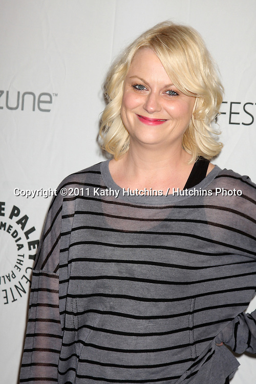 """LOS ANGELES - MAR 12:  Amy Poehler arriving at the """"Freaks & Geeks, Undeclared"""" PaleyFest 2011 at Saban Theatre on March 12, 2011 in Beverly Hills, CA"""