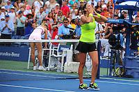 Victoria Azarenka (BLR).Maria Sharapova (RUS) .Flushing Meadows 7/9/2012 .Tennis Us Open Grande Slam.Foto Insidefoto / Virginie Bouyer / Panoramic.ITALY ONLY
