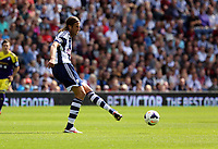 Pictured: Jonas Olsson, captain for West Brom. Sunday 01 September 2013<br />