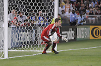 DC United goalkeeper Troy Perking (23)  DC United defeated AC. Milan 3-2 at RFK Stadium, Wednesday May 26, 2010.