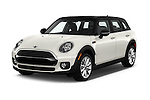 2016 MINI CLUBMAN Cooper 5 Door wagon Angular Front stock photos of front three quarter view