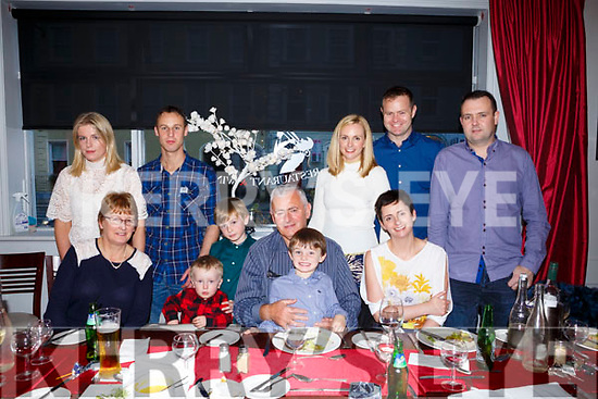 Mary Ellen Barry and Sean Barry from Camp celebrating their 40th Wedding Anniversary  with family at Danny Lane on Saturday