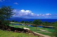 Wailea Emerald holes number 10 & 17 designed by Robert Trent Jones II on Maui
