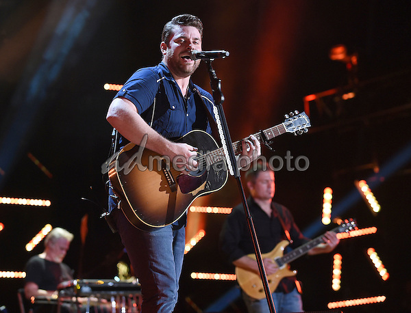 11 June 2016 - Nashville, Tennessee - Chris Young. 2016 CMA Music Festival Nightly Concert held at Nissan Stadium. Photo Credit: Laura Farr/AdMedia