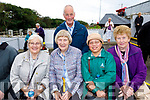Helen O'Hara, Anne O'Connell and Billy O'Connell (Kilmoyley) with Saudah O'Brien (Ardfert) Josephine O'Connell (Abbeydorney), enjoying Pattern Day in Ballyheigue, on Saturday last.