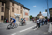 Bikers Pub passage<br /> <br /> Stage 11: Carpi to Novi Ligure (221km)<br /> 102nd Giro d'Italia 2019<br /> <br /> ©kramon