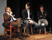 Andrea Vianello, Giulio Berruti, Riccardo Scamarcio .Firenze 06/04/2013 Teatro del Sale.Rai Screenings 2013 Convegno Rai Cinema.Foto Andrea Staccioli Insidefoto