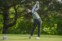 Sung Hyun Park (KOR) watches her tee shot on 2 during round 4 of the 2018 KPMG Women's PGA Championship, Kemper Lakes Golf Club, at Kildeer, Illinois, USA. 7/1/2018.<br /> Picture: Golffile | Ken Murray<br /> <br /> All photo usage must carry mandatory copyright credit (&copy; Golffile | Ken Murray)
