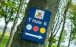 BRIELLE - Golfclub Kleiburg. wegwijzer, aanwijzing, route,  COPYRIGHT KOEN SUYK