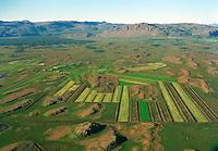 Álftártunga séð til norðurs, Borgarbyggð áður Álftaneshreppur / Alftartunga viewing north. Borgabyggd former Alftaneshreppur.