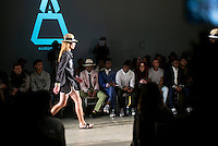 CAPE TOWN, SOUTH AFRICA JULY 2: Models walk for the designer label Augustine during a show at South Africa Menswear week 2015 on July 2, 2015 in Cape Town, South Africa. The second edition of SAMW featured designers from South Africa and around Africa showing spring and summer collections during the 3-day event. (Photo by Per-Anders Pettersson)