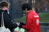 09.12.2015: Eintracht Frankfurt Training