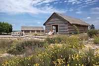 About an hour outside Lisbon the straw cabins of CasasNaAreia are the work of architect Manuel Aires Mateus and are built literally on the sand of the Troia peninsula