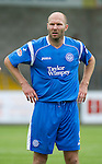 St Johnstone FC.... Season 2010-11.Sam Parkin.Picture by Graeme Hart..Copyright Perthshire Picture Agency.Tel: 01738 623350  Mobile: 07990 594431