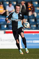 Garry Thompson of Wycombe Wanderers during the Sky Bet League 2 match between Wycombe Wanderers and Mansfield Town at Adams Park, High Wycombe, England on 25 March 2016. Photo by David Horn.