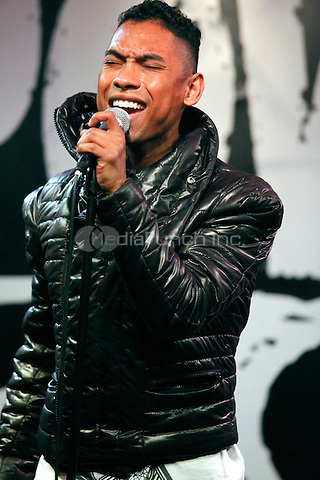 Miguel performs at Power 99 and Xfinity Performance Theater in Bala Cynwyd, Pa on February 7, 2011  © Star Shooter / MediaPunchInc