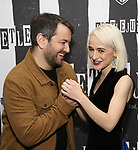 Alex Brightman and Sophia Anne Caruso attends Broadway's 'Beetlejuice' - First Look Photo Call at Subculture  on February 28, 2019 in New York City.