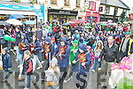 Pupils from Cahir NS, Kenmare marching in the Killarney St Patricks day parade on Saturday