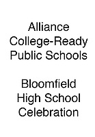 Alliance Bloomfield HS Celebration