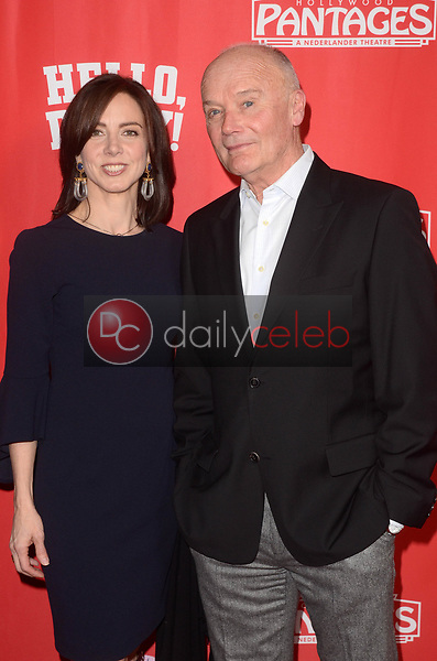 Maurey Morgan, Creed Bratton<br /> at the Hello Dolly! Los Angeles Premiere, Pantages Theater, Hollywood, CA 01-30-19<br /> David Edwards/DailyCeleb.com 818-249-4998