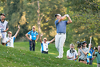 Francesco Molinari (ITA) in action on the 15th hole during the second round of the 76 Open D'Italia, Olgiata Golf Club, Rome, Rome, Italy. 11/10/19.<br /> Picture Stefano Di Maria / Golffile.ie<br /> <br /> All photo usage must carry mandatory copyright credit (© Golffile | Stefano Di Maria)