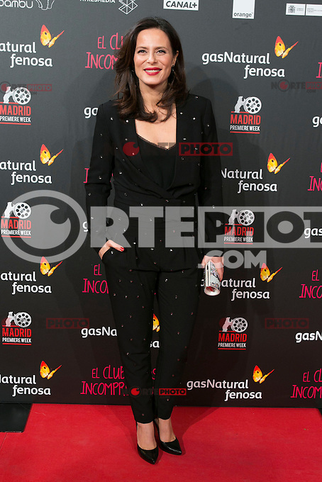 Aitana Sanchez Gijon attend the Premiere of the movie &quot;El club de los incomprendidos&quot; at callao Cinema in Madrid, Spain. December 1, 2014. (ALTERPHOTOS/Carlos Dafonte) /NortePhoto<br />