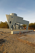 Liberty Ship Memorial in Portland, Maine USA during the spring months. Liberty Ship Memorial is located near the Portland Breakwater Light.