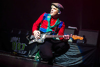 DETROIT, MI - DECEMBER 16: Neon Trees performs during the 98.7 fm AMP Radio Kringle Jingle at The Fillmore on December 16, 2012 in Detroit, Michigan.  RTNSchwegler / Mediapunchinc /NortePhoto