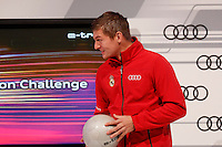 Toni Kroos participates and receives new Audi during the presentation of Real Madrid's new cars made by Audi in Madrid. December 01, 2014. (ALTERPHOTOS/Caro Marin) /Nortephoto