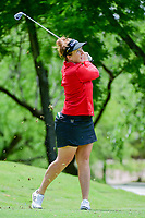 Beth Allen (USA) watches her tee shot on 13 during round 1 of  the Volunteers of America Texas Shootout Presented by JTBC, at the Las Colinas Country Club in Irving, Texas, USA. 4/27/2017.<br /> Picture: Golffile | Ken Murray<br /> <br /> <br /> All photo usage must carry mandatory copyright credit (&copy; Golffile | Ken Murray)