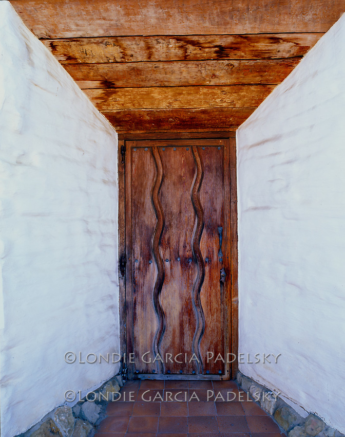 'River of Life' door design, Mission San Jose, San Jose, California