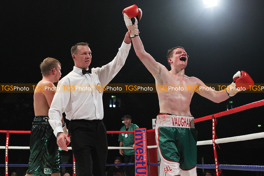 Peter Vaughan beats Phill Fury on points, promoted by Hennessy Sports - 23/07/11 - MANDATORY CREDIT: Chris Royle/TGSPHOTO - Self billing applies where appropriate - 0845 094 6026 - contact@tgsphoto.co.uk - NO UNPAID USE..