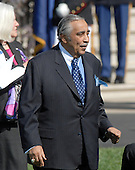 Washington, DC - April 15, 2008 -- United States Representative Charles Rangel (Democrat of New York) awaits the arrival of Pope Benedict XVI at the White House in Washington, D.C. on Wednesday, April 16, 2008.  .Credit: Ron Sachs / CNP.(RESTRICTION: NO New York or New Jersey Newspapers or newspapers within a 75 mile radius of New York City)